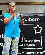 Foto: Marion Padua - Linke Liste Nürnberg - Kundgebung Fluchtursachen bekämpfen