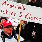 Bild Kundgebung: LINKE LISTE Nürnberg wünscht der GEW ein viel Erfolg in diesen Tarifverhandlungen